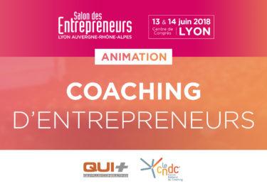 Rencontrez un Coach d'Affaires au Salon des Entrepreneurs à Lyon les 13 et 14 juin