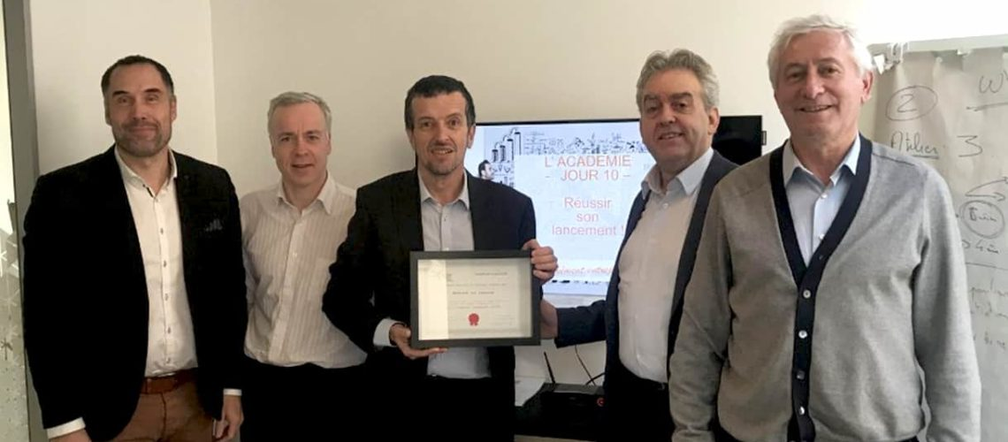 Félicitations à Luc Chapoton nouvellement certifié coach d'affaires Le Centre National du Coaching ®