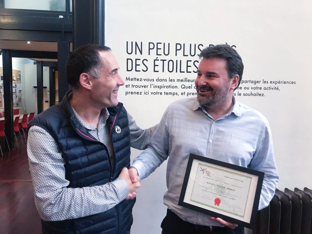 Diplôme Philippe Henrot coach certifié