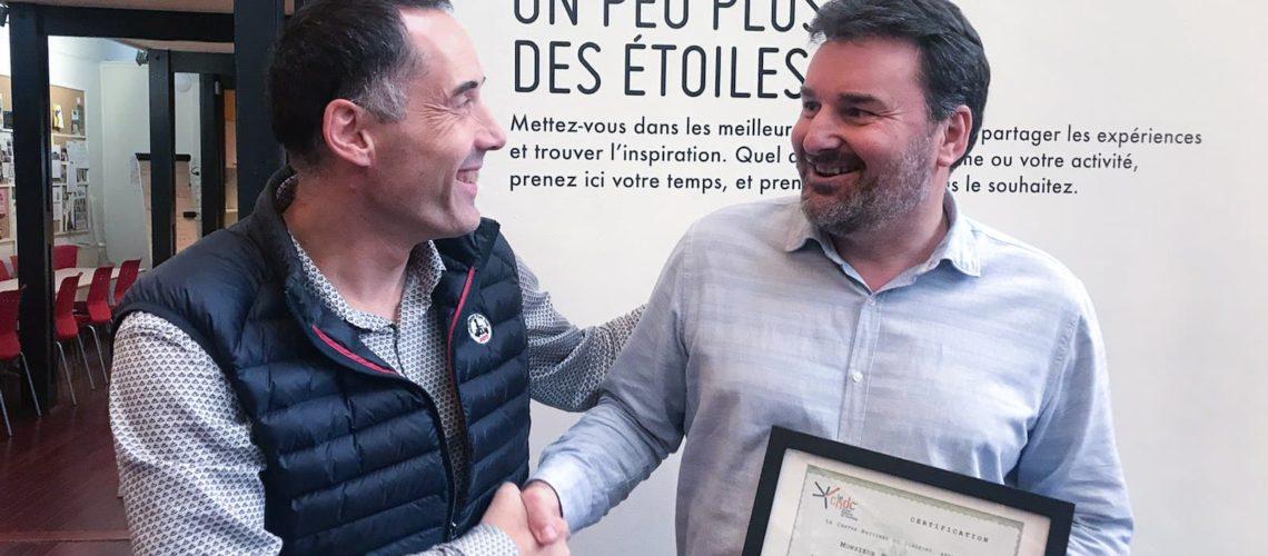 Félicitations à Philippe Henrot, nouveau coach d'affaires certifié Le Centre National du Coaching®