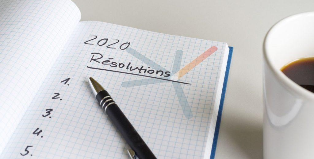 8 bonnes résolutions pour 2020