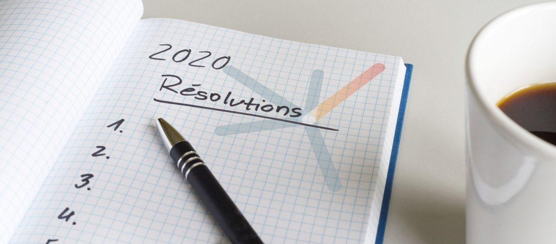 Quelle serait votre bonne résolution en 2020?