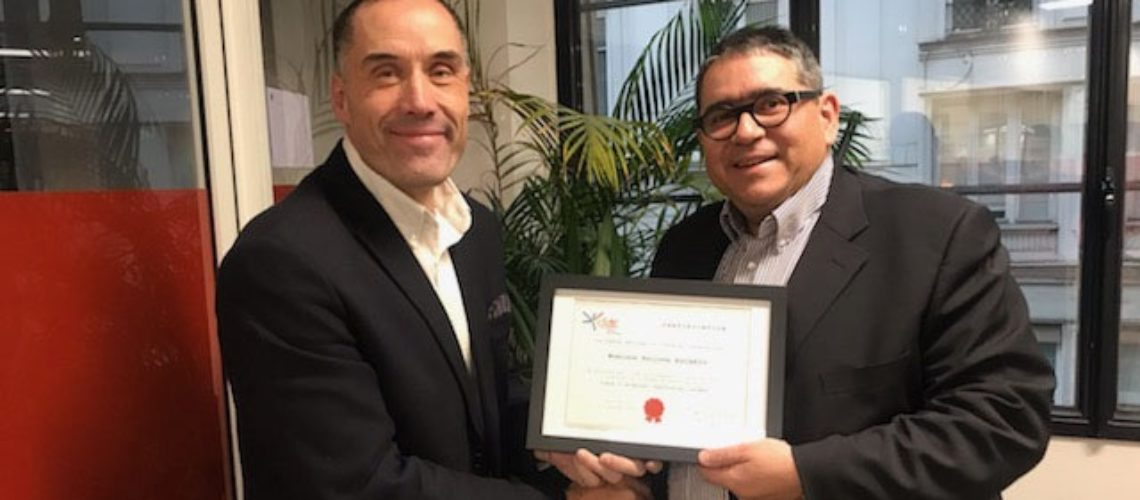 Félicitations à Philippe Escario, nouveau coach d'affaires certifié Le Centre National du Coaching®