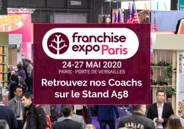 Venez nous rencontrer au salon Franchise expo Paris!