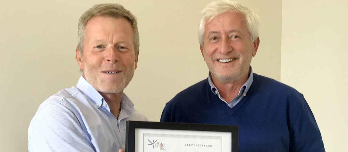 Félicitations à Fabien Mulliez, nouveau coach d'affaires certifié