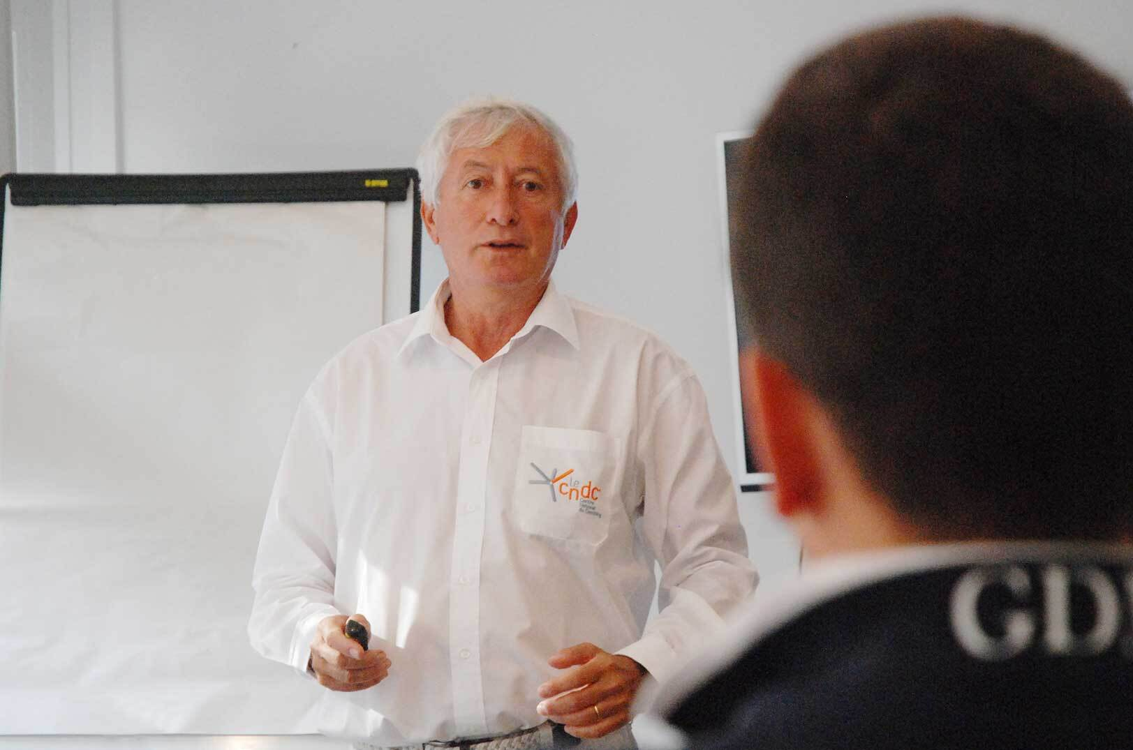 Georges Druon, coach fondateur leCNDC